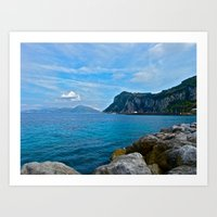 Sorrento: Amalfi Coast, … Art Print