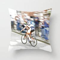 Fast Color  Throw Pillow