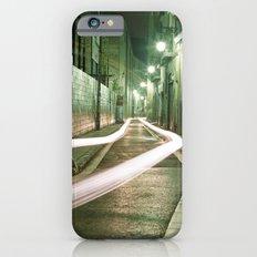 Barcelona, Spain night streets. Slim Case iPhone 6s