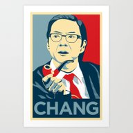 Chang We Can Believe In … Art Print