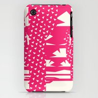 iPhone 3Gs & iPhone 3G Cases featuring Red Dessert by Yetiland