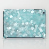 Aqua Bubbles iPad Case