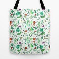 flowers watercolor Tote Bag