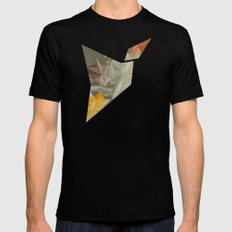 Hall of mirrors Black Mens Fitted Tee SMALL
