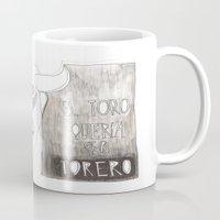 El toro que quería ser torero Mug