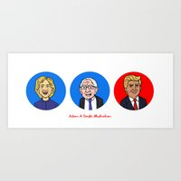 Election Art Print