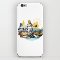 Into The Depths iPhone & iPod Skin