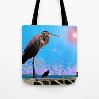 Big Bird, Little Bird Tote Bag