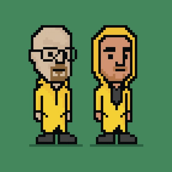 8-Bit: Breaking Bad Art Print
