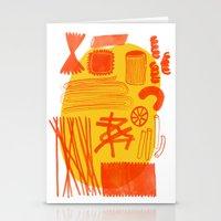 Pasta Soul Stationery Cards
