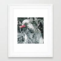 Rufus The Bulldog Framed Art Print