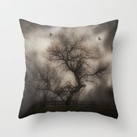 Svetlana's Tree Throw Pillow