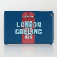 London Calling iPad Case