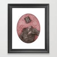In Which The Head Is Els… Framed Art Print