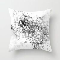 Dance With No Legs Throw Pillow