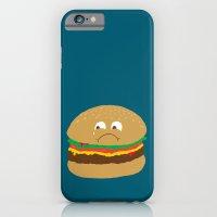 Sad Hamburger iPhone 6 Slim Case