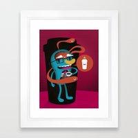 Magic In A Cup Framed Art Print