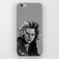 He Must Be Thinking Abou… iPhone & iPod Skin