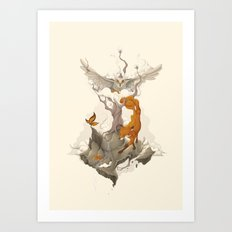 Wild Animals Art Print