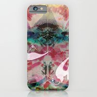 iPhone & iPod Case featuring Dirty Paws by Galvanise The Dog