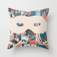 Throw Pillow featuring Save Us. by Ewen Stenhouse