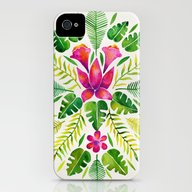 Tropical Symmetry – Pi… iPhone (4, 4s) Slim Case