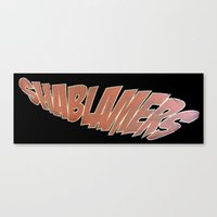 shablamers invert Canvas Print