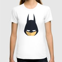 Bat Womens Fitted Tee White SMALL