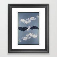 Landscapes c14 (35mm Double Exposure) Framed Art Print
