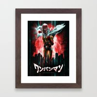 The Epic Hero Just for Fun Framed Art Print