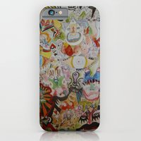 iPhone & iPod Case featuring super skribb by Dan Feit