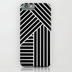 White stripes Slim Case iPhone 6s
