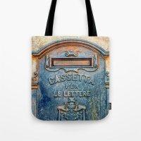 Italian mailbox Tote Bag