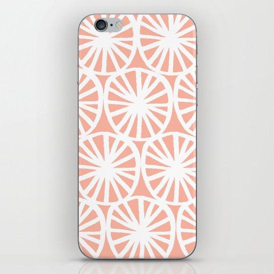 White circles 4 iPhone & iPod Skin