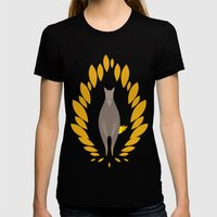 Superwolf Womens Fitted Tee Black SMALL
