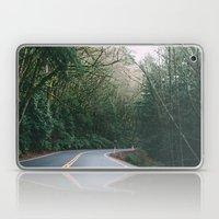 Drive Through The Woods Laptop & iPad Skin