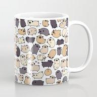 Pug Life Doodle Mug