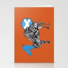 Scottish Camel - Orange Stationery Cards
