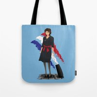 Come fly with me, let's fly, let's fly away - France Tote Bag