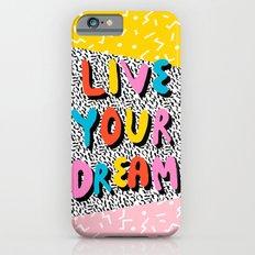 Ya Heard - 1980's throwback retro pattern memphis-style hipster bright colorful pop art minimal rad Slim Case iPhone 6s