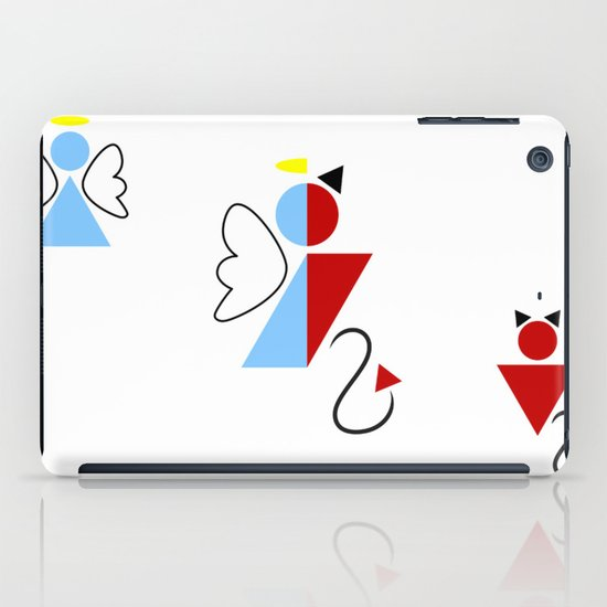 Dengel (Angel + Devil) iPad Case