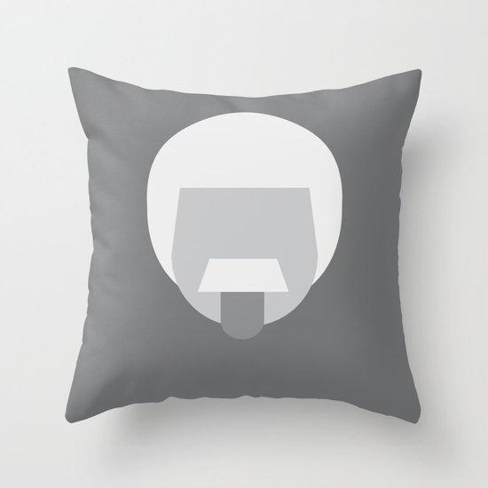 FC- Einstein Throw Pillow