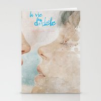 La vie d'Adele, movie poster - chapter two - alternative playbill Stationery Cards
