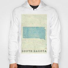 South Dakota State Map B… Hoody