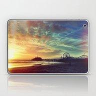 Santa Monica Sunset Laptop & iPad Skin
