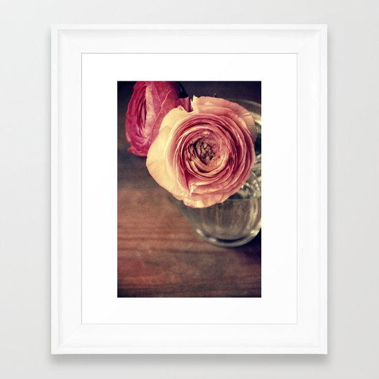 fiore Framed Art Print