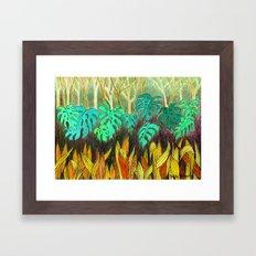 Garden of Eden 2 Framed Art Print