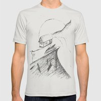 If Only... Mens Fitted Tee Silver SMALL