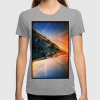 CD (35mm Multi Exposure) Womens Fitted Tee Tri-Grey SMALL