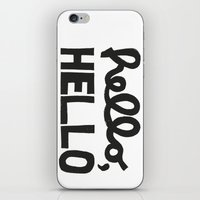 HELLO, HELLO  iPhone & iPod Skin